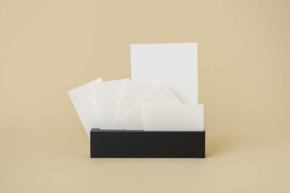 紙束メモスタンド